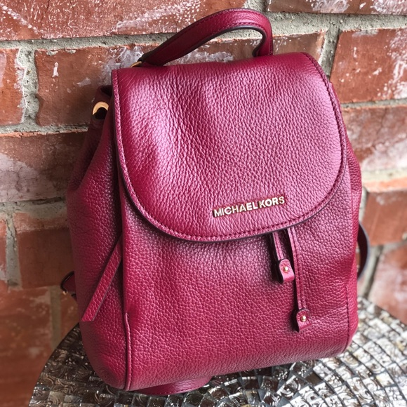 d47fdf89f1ed Michael Kors Bags | Riley Medium Pebble Leather Backpack | Poshmark